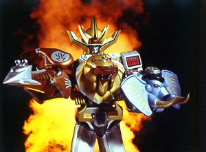 WILD FORCE MEGAZORD (Spear & Shield Mode)