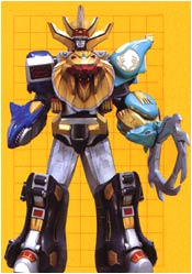 WILD FORCE MEGAZORD (Cross Horn Mode)