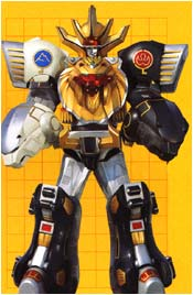WILD FORCE MEGAZORD (Double Knuckle Mode)