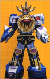 WILD FORCE MEGAZORD (Striker Mode)