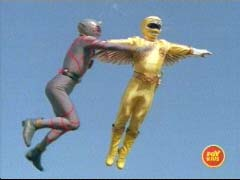 Yellow Ranger challenges the Putrids