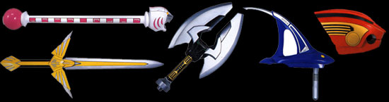 Wild Force Weapons